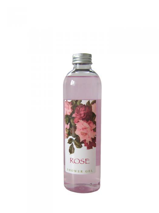 Gel de Dus VILLAGE COSMETICS cu Extract de Trandafiri - 250 ml