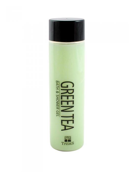 Gel de Dus si Baie TREETS cu Ceai Verde - 300 ml