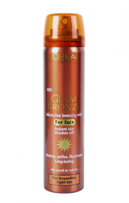 Autobronzant pentru fata L'OREAL Glam Bronze 75ml - Light Brunettes-big