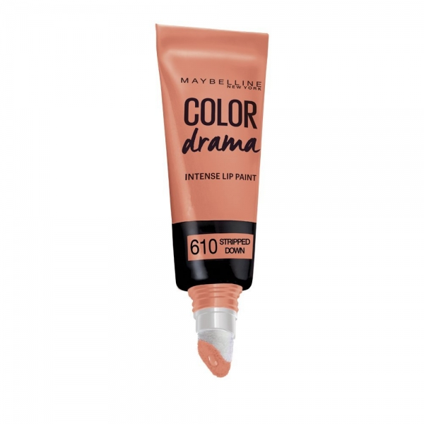 Gloss Maybelline Color Drama Intense Lip Paint 610 Stripped Down 6.4 ml