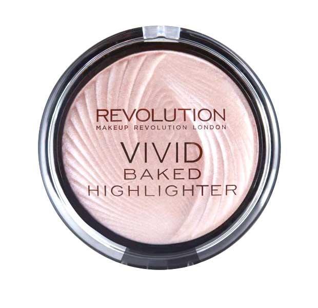 Iluminator MAKEUP REVOLUTION Vivid Baked Highlighter Peach Lights 7.5g