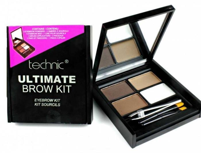 Kit Complet Pentru Sprancene Technic Ultimate Brow Kit