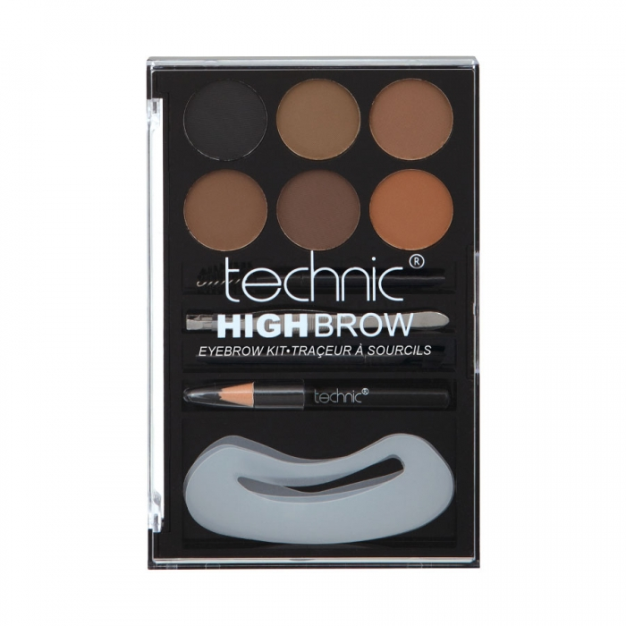 Kit complet pentru sprancene Technic High Brow Eyebrow Kit