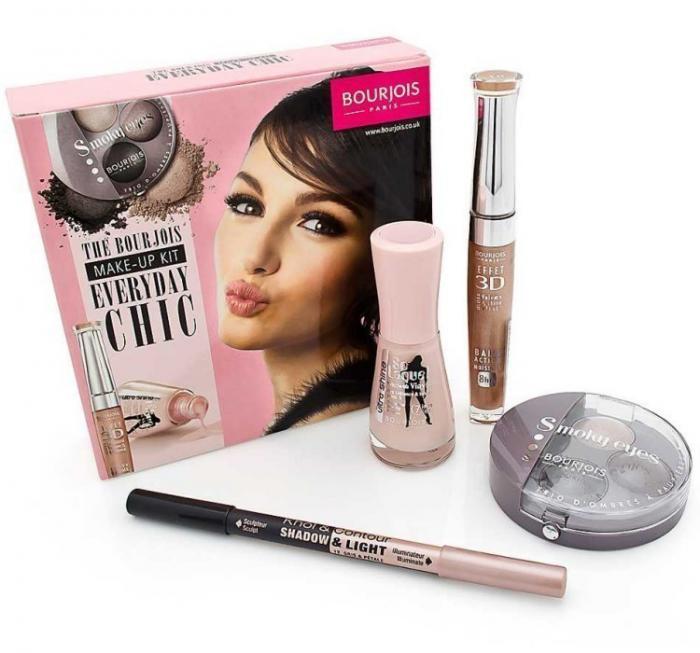 Kit cu 4 Produse Cosmetice Pentru Make-up BOURJOIS EveryDay Chic
