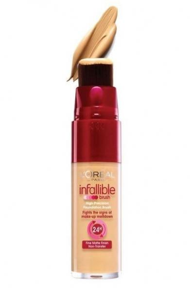 Fond de Ten L oreal Infallible Brush 200 Golden Sand