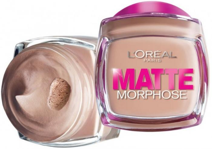 Fond de Ten L'oreal Matte Morphose - 140 Creamy Natural-big