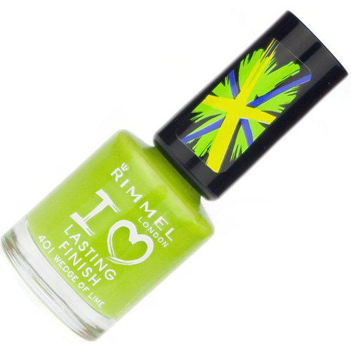Lac de unghii Rimmel I Love Lasting Finish 401 Wedge Of Lime