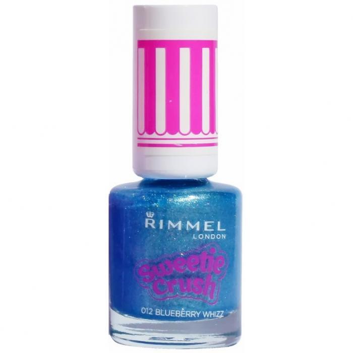 Lac de unghii texturat Rimmel Sweetie Crush 012 Blueberry Whizz