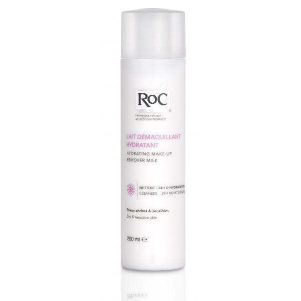 Lapte Demachiant Hidratant Pt Ten Uscat Sensibil RoC 200 ml