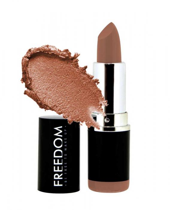 Ruj Profesional Makeup Revolution Freedom London Pro Lipstick Bare 114