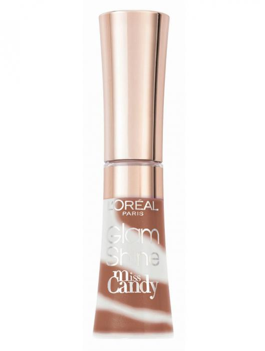 Gloss L oreal Glam Shine Miss Candy 712 Dolce Pralina