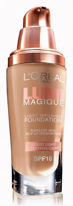 Fond de Ten L oreal Lumi Magique W3 Gold Linen