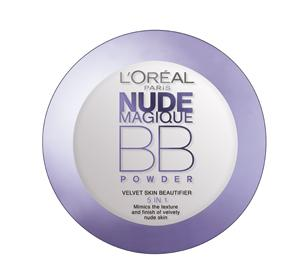 Pudra Pulbere BB L Oreal Nude Magique 5 in 1 Light Skin
