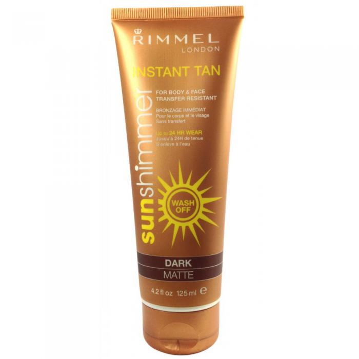 Lotiune Autobronzanta Rimmel Sun Shimmer Dark Matte 125 Ml