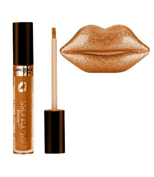 Lipgloss pigmentat ARCANCIL Paris Be My Gloss - 005 Gold Elixir-big