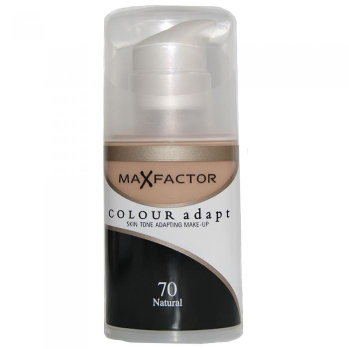 Fond de Ten Lichid MAX FACTOR Colour Adapt - 70 Natural, 34 ml-big
