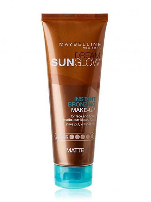 Autobronzant instant Maybelline Dream SunGlow Instant Bronzing pentru piele deschisa Light Matte 125 ml