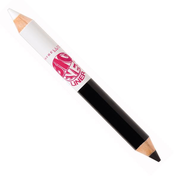 Creion de ochi dublu Maybelline Big Eyes 01 Black White