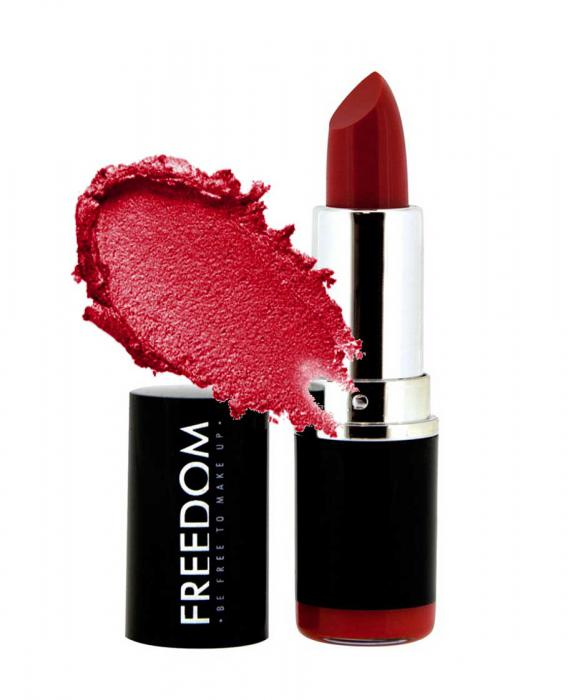Ruj Profesional Makeup Revolution Freedom London Pro Red Lipstick 108
