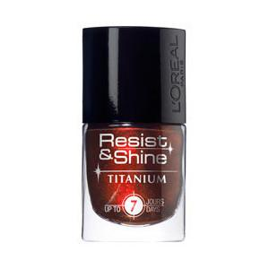 Oja L'oreal Resist & Shine Titanium - 734 Black Ruby-big