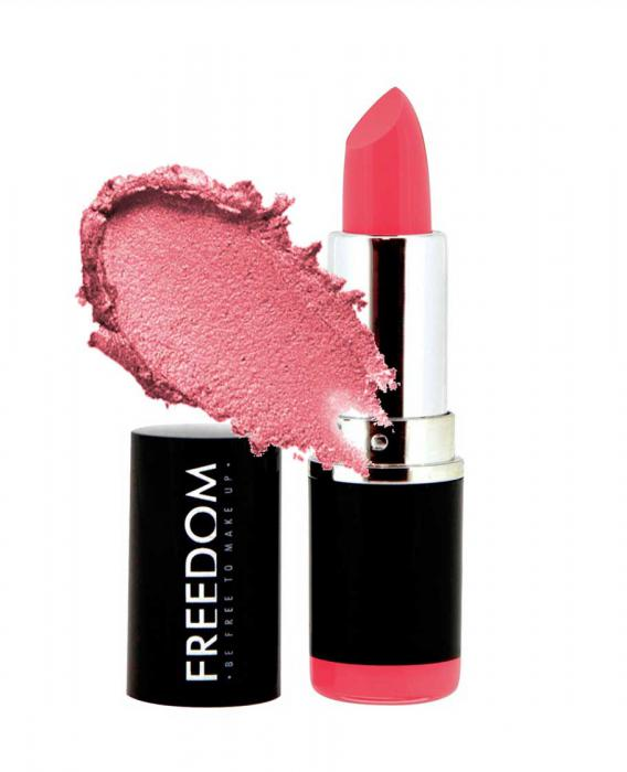 Ruj Profesional Makeup Revolution Freedom London Pro Pink Lipstick 103