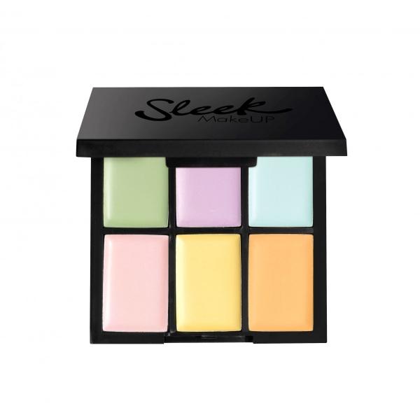 Paleta 6 Corectoare Cremoase SLEEK MakeUP Colour Corrector Palette 6x0.4 gr