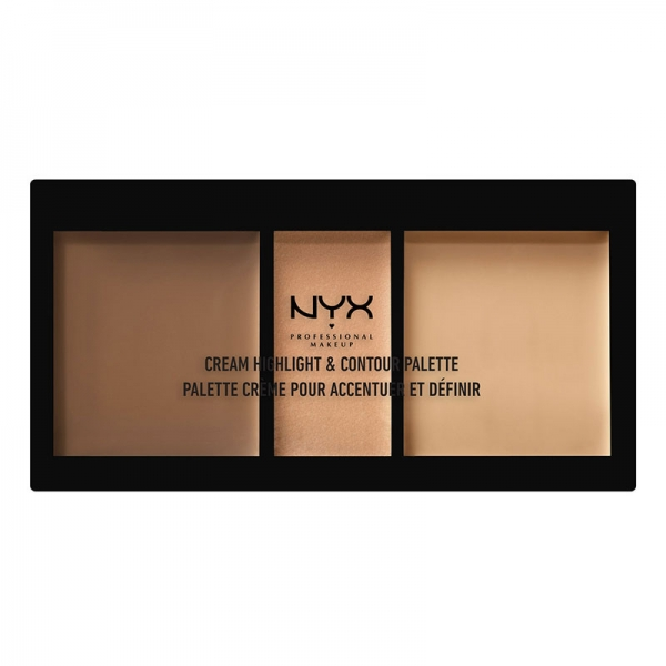 Paleta Pentru Conturarea Fetei Nyx Professional Makeup Highlight Contour Medium