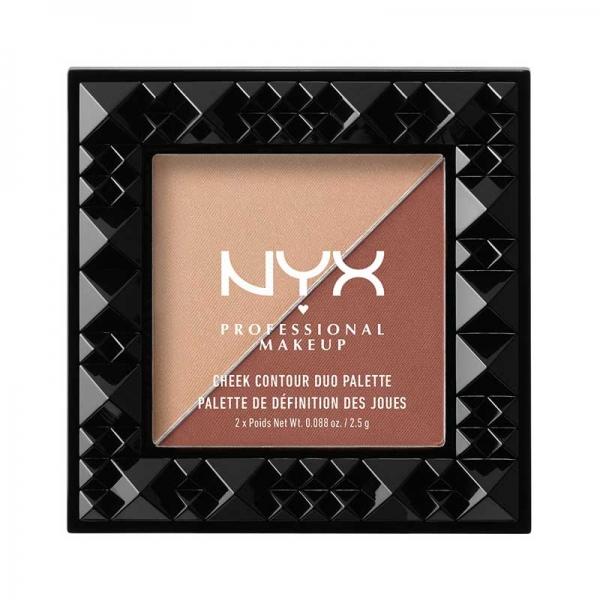 Paleta Pentru Conturarea Fetei Nyx Professional Makeup Cheek Contour Duo GingerPepper 2.5 gr