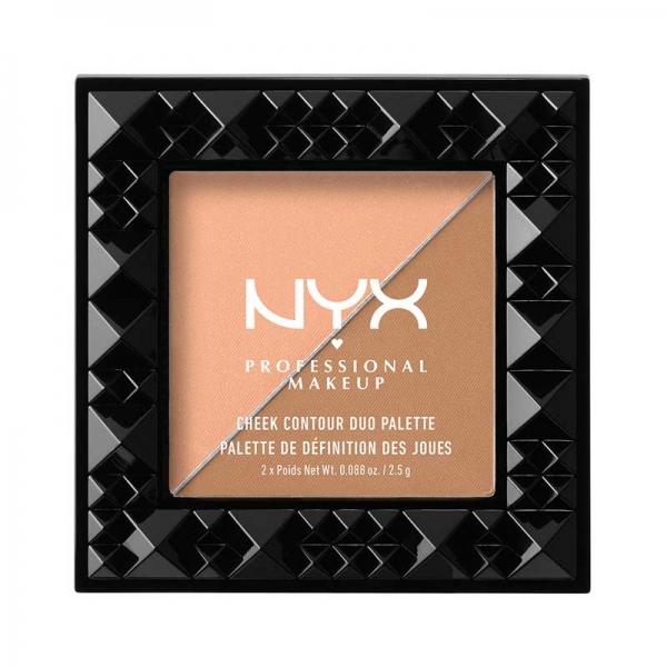 Paleta Pentru Conturarea Fetei Nyx Professional Makeup Cheek Contour Duo Two To Tango 2.5 gr