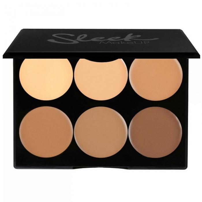 Paleta conturare SLEEK MakeUP Cream Contour Kit Medium 096 12g