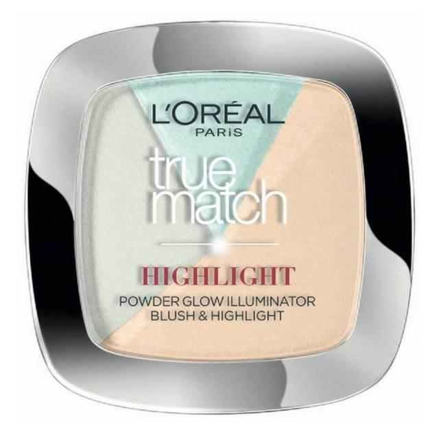 Paleta Cu 3 Iluminatoare L oreal True Match HIGHLIGHT 302 R C Icy Glow 9 gr