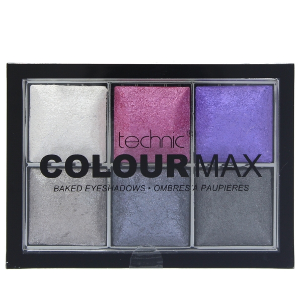 Paleta Cu 6 Farduri Pigmentate Technic Colour Max Rock Chick