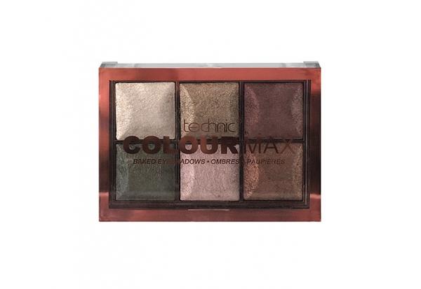 Paleta Cu 6 Farduri Pigmentate Technic Colour Max Cappuccino