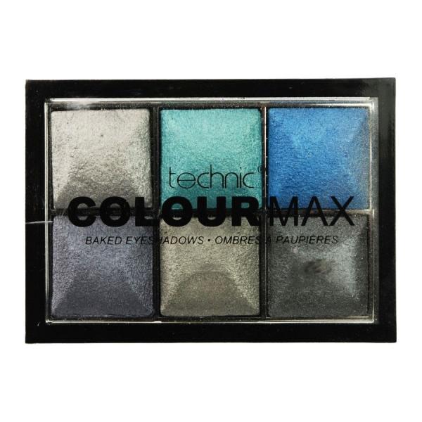 Paleta Cu 6 Farduri Pigmentate Technic Colour Max Rolling In It