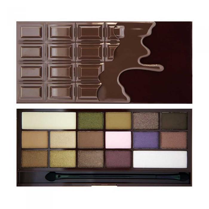 Paleta de Farduri MAKEUP REVOLUTION I Heart Makeup I Love Chocolate I Chocolate