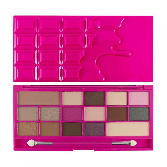 Paleta de Farduri MAKEUP REVOLUTION I Heart Makeup I Love Chocolate Chocolate Love