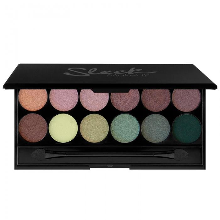 Paleta farduri SLEEK MakeUP i Divine Eyeshadow Palette Garden Of Eden 12x1 gr