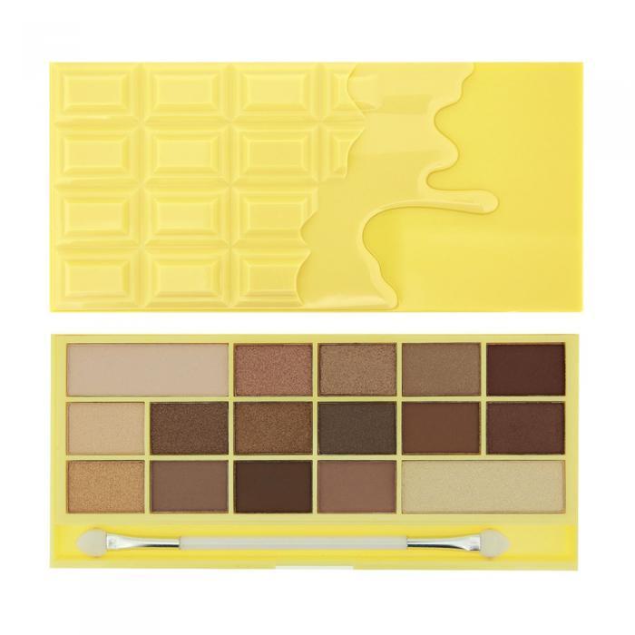 Paleta de Farduri MAKEUP REVOLUTION I Heart Makeup I Love Chocolate White Chocolate