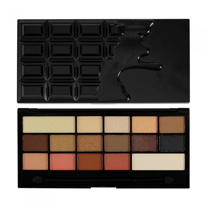 Paleta de Farduri MAKEUP REVOLUTION I Heart Makeup I Love Chocolate Vice