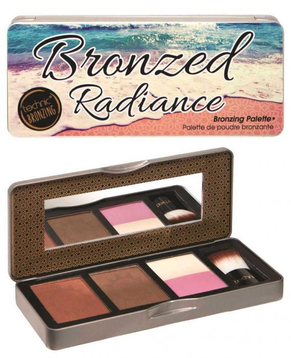 Paleta Bronzanta Iluminatoare Technic Bronzed Radiance