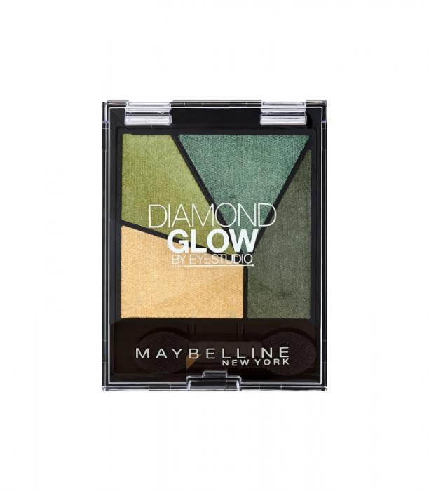 Paleta Cu 4 Farduri Irizante Maybelline Diamond Glow 05 Forest Drama