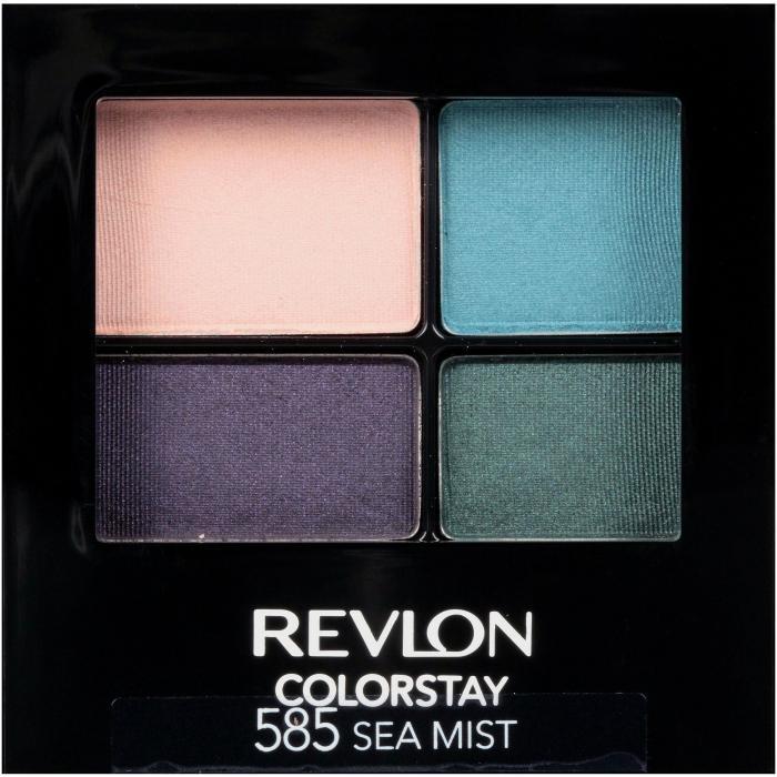 Paleta cu 4 Farduri MATE Revlon ColorStay Quatro 585 Sea Mist