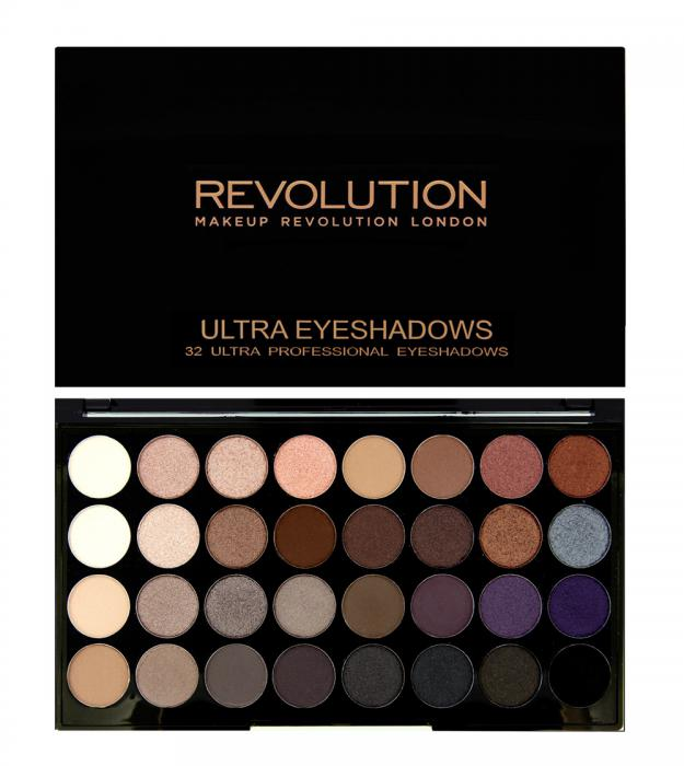 Paleta Profesionala Cu 32 Farduri Makeup Revolution Affirmation
