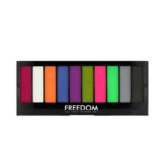 Paleta Profesionala Cu 10 Nuante Freedom Makeup Future Bright