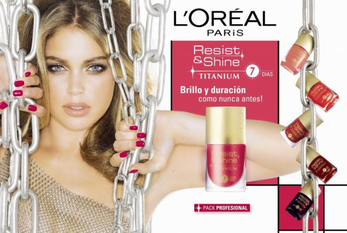 Oja L'oreal Resist & Shine Titanium - 738 Goldmine-big