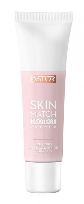 Baza De Machiaj Iluminatoare ASTOR Skin Match Protect Primer 30ml