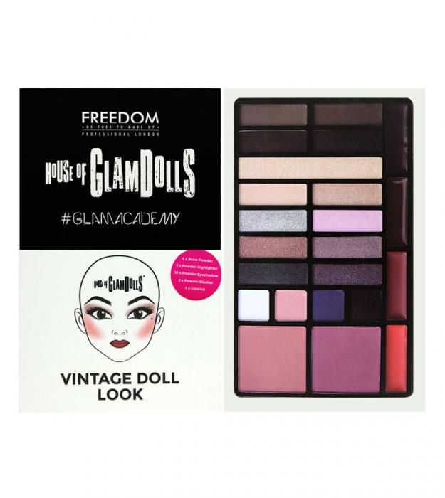 Paleta Multifunctionala Freedom London House Of Glamdolls Vintage Doll