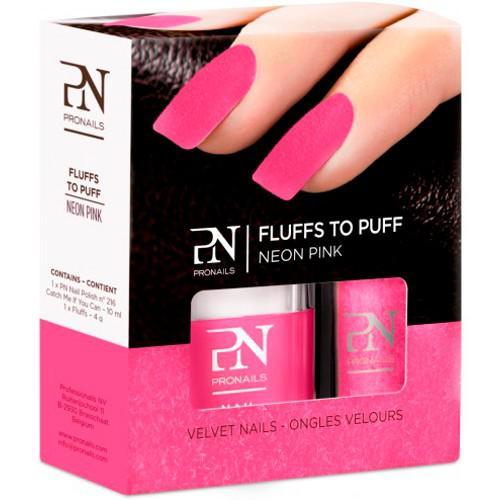 Lac de Unghii PRONAILS cu Catifea Fluffs To Puff Neon Pink