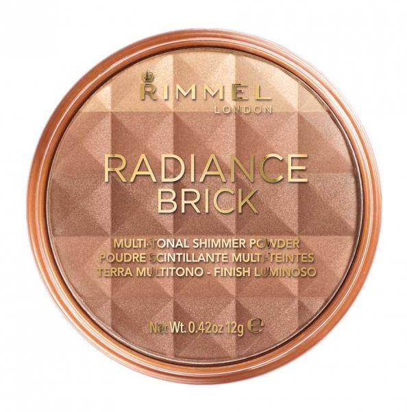 Pudra Bronzanta Rimmel Radiance Brick 002 Medium 12 gr