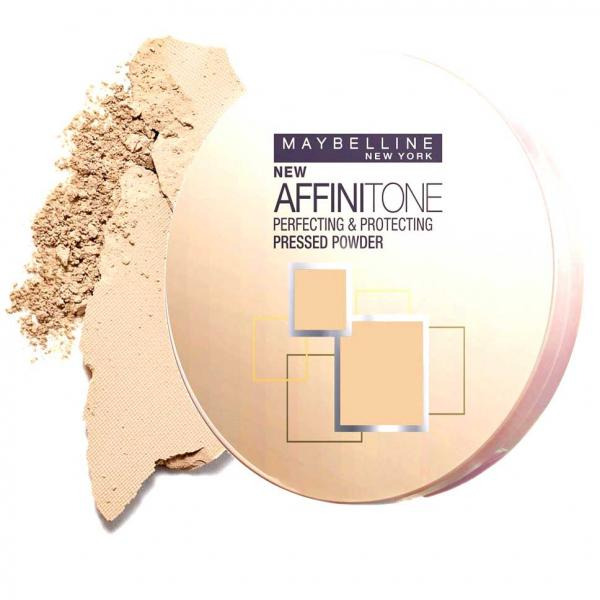 Pudra Compacta MAYBELLINE Affinitone Powder - 24 Golden Beige, 9g-big